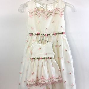 NWT, Girl's Size 4 Cinderella Dress